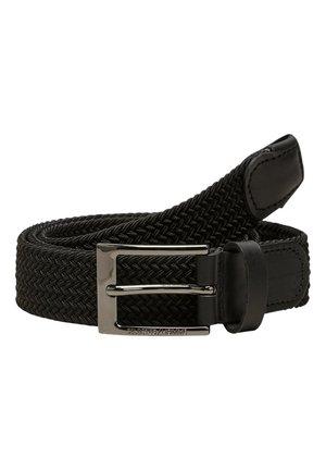 GÜRTEL WEBSTOFF - Belt - black