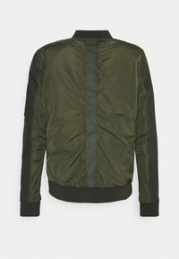 Goosecraft - CASH BOMBER - Giubbotto Bomber - leaf green - 1