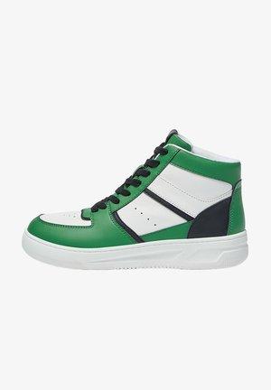 MIT EINSÄTZEN - Sneakers hoog - green