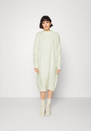 FELIA DRESS - Strikket kjole - white light