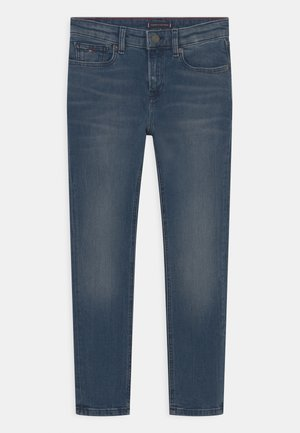 SCANTON - Straight leg jeans - steelgrey