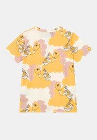 Mini Rodini - UNICORN NOODLES UNISEX - Print T-shirt - yellow - 1