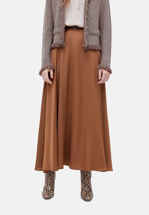 Maxi skirt - marrone