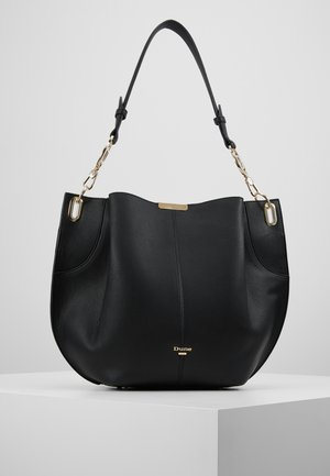 DERLY - Handbag - black plain