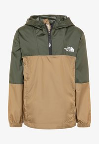 The North Face - YOUTH YAFITA WIND 1/4 ZIP - Outdoorjas - thyme - 0