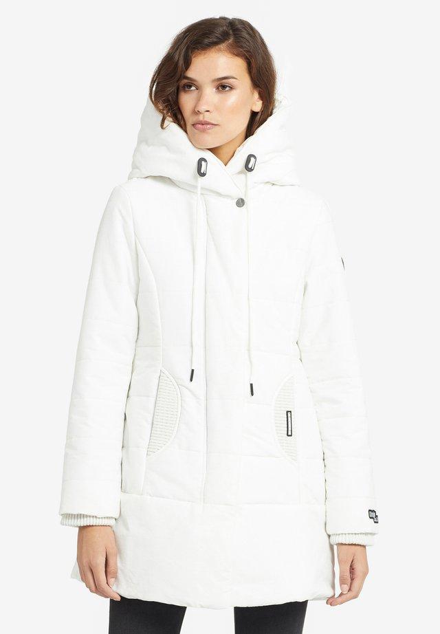 SHERMA - Płaszcz zimowy - white