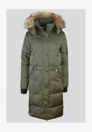 Winter jacket - dark moss
