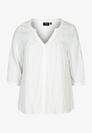 MIT KNÖPFEN - Blouse - white