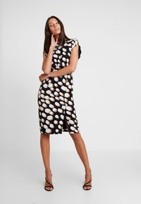 Great Plains London - MARGOT SPOT - Day dress - black/amaretto - 2