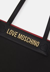 Love Moschino - THE NEW LETTERING - Handbag - black