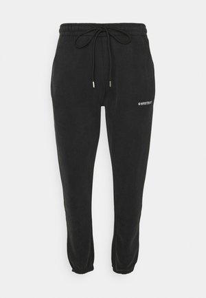 WARREN PANTS VINTAGE UNISEX - Pantalon de survêtement - black