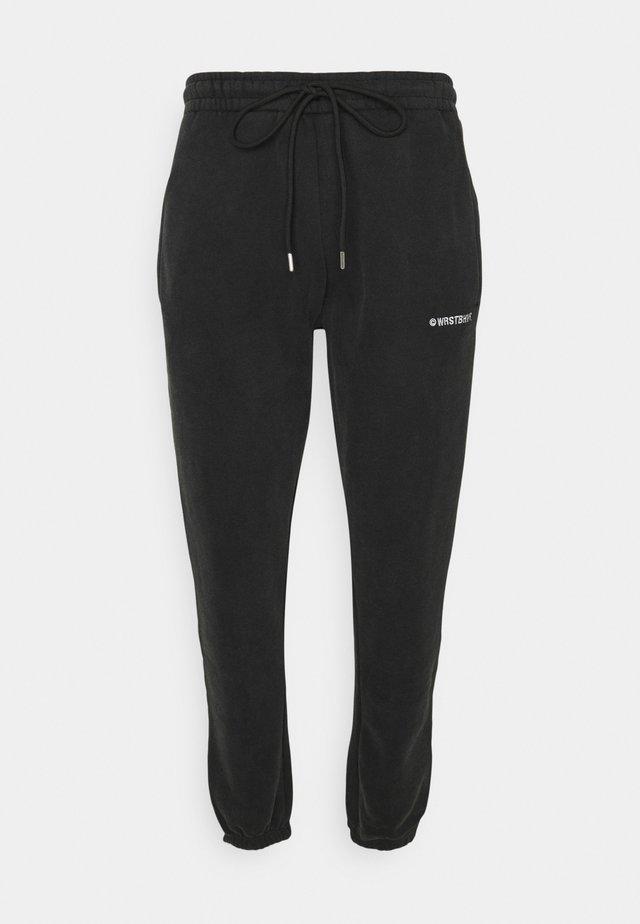 WARREN PANTS VINTAGE UNISEX - Tracksuit bottoms - black