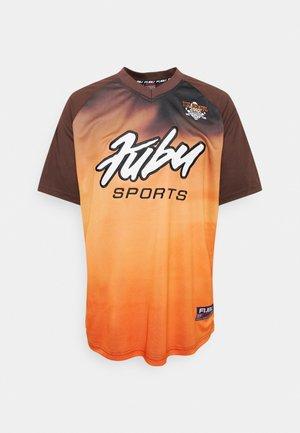 GARDIENT - T-shirt imprimé - brown