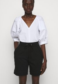 3.1 Phillip Lim - FRENCH TERRY PULL ON - Shorts - black - 3