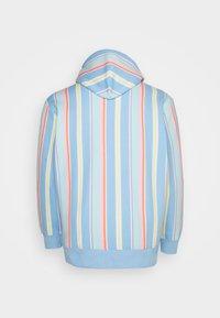 Tommy Jeans Plus - PLUS STRIPE HOODIE - Sweatshirt - light powdery blue - 1