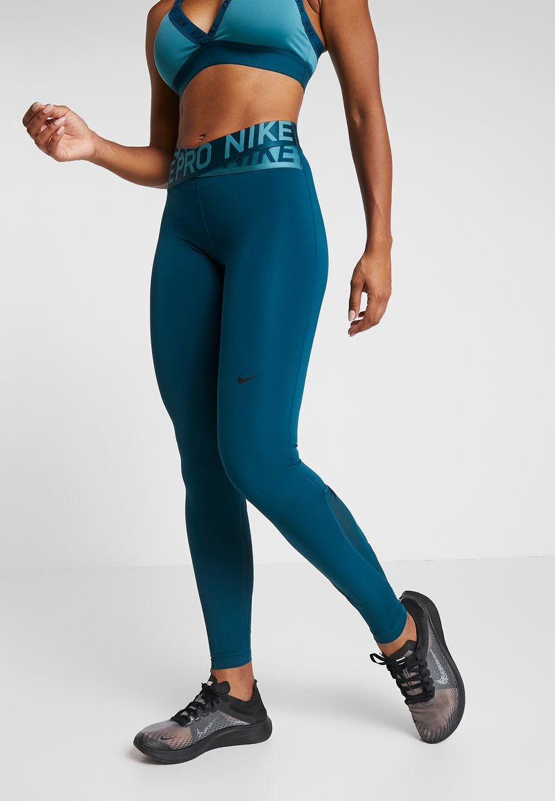 Nike Performance - INTERTWIST 2.0 - Tights - midnight turquoise/black