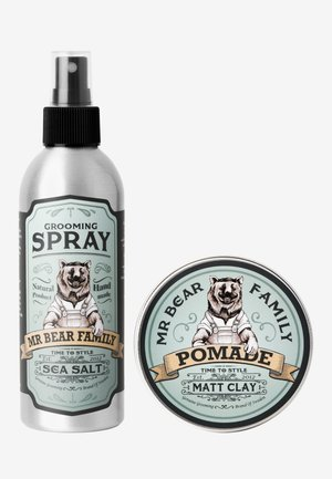 KIT - GROOMING SPRAY & POMADE - Hair set - springwood