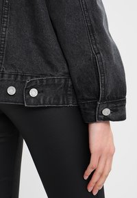 Missguided - OVERSIZED JACKET - Cowboyjakker - black - 4