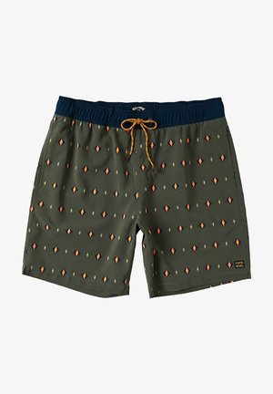SUNDAYS LAYBACK - Swimming shorts - military