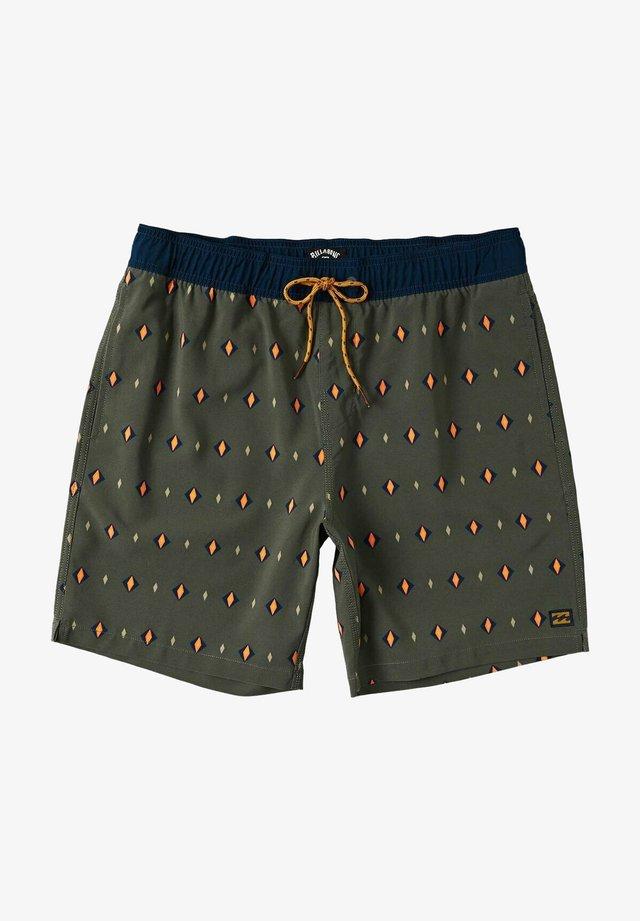 SUNDAYS LAYBACK - Shorts da mare - military