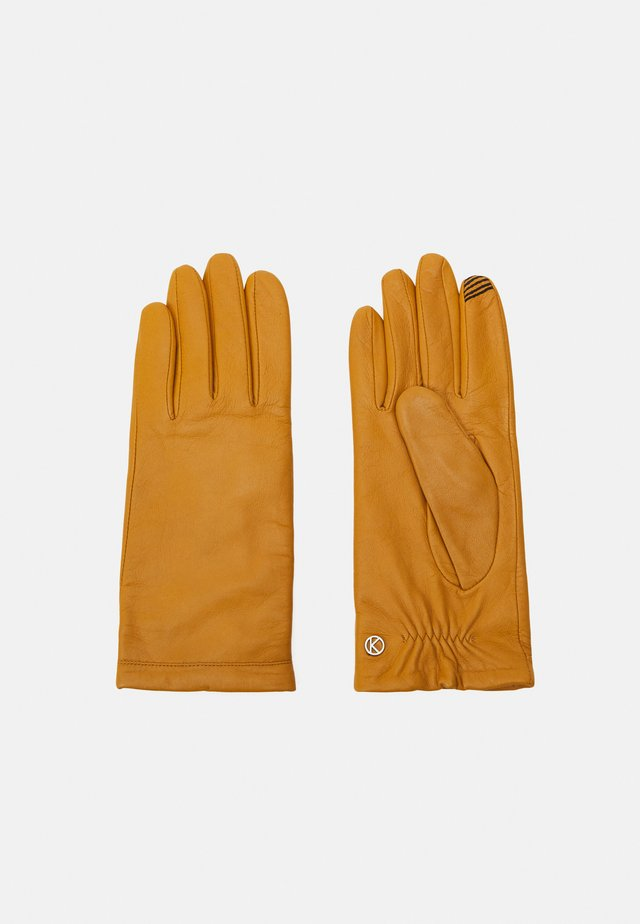 Gloves - old gold