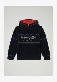 Napapijri - TEIDE - Fleece jumper - blu marine - 0