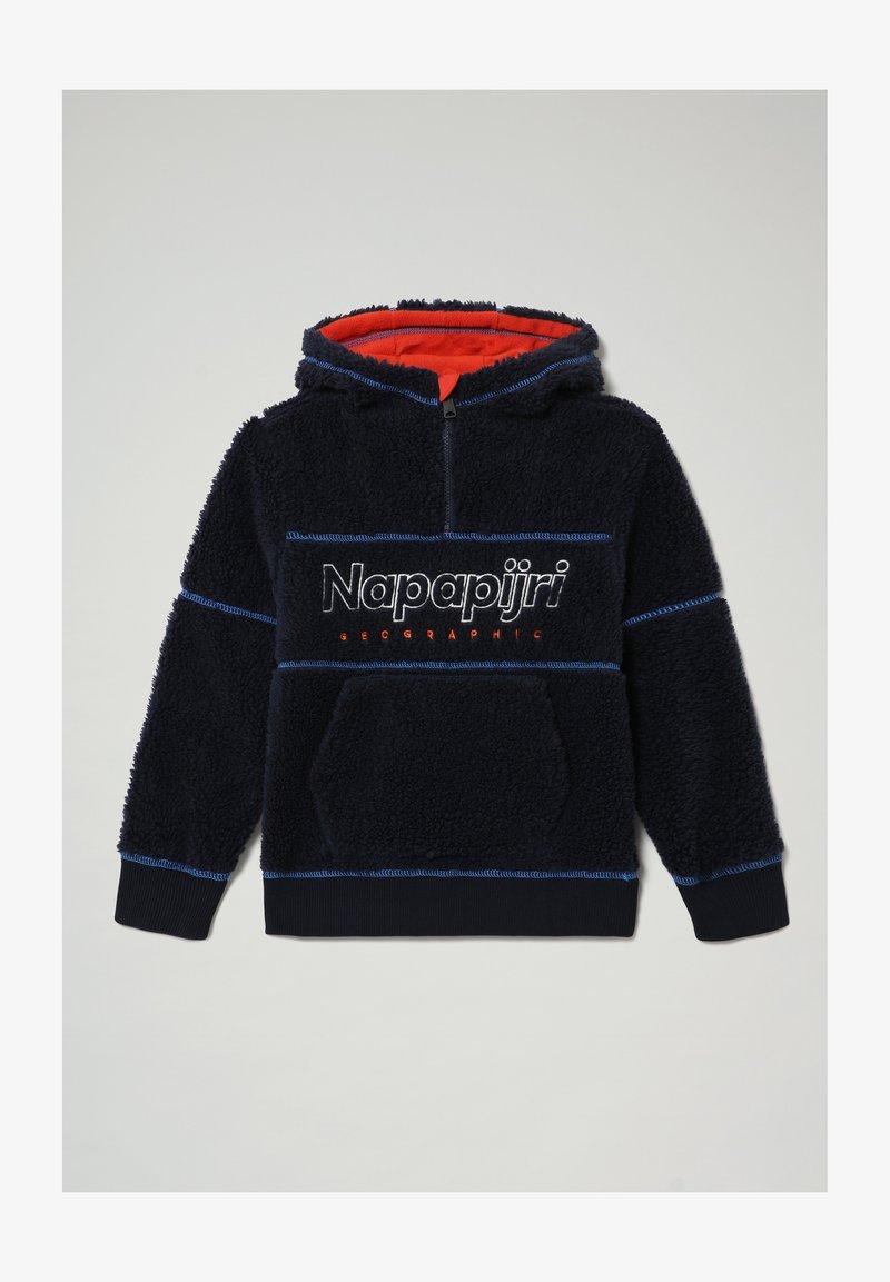 Napapijri - TEIDE - Fleece jumper - blu marine
