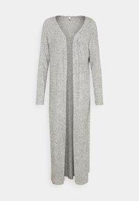 ONLLUNA LONG CARDIGAN - Cardigan - light grey melange