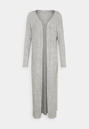 ONLLUNA LONG CARDIGAN - Neuletakki - light grey melange
