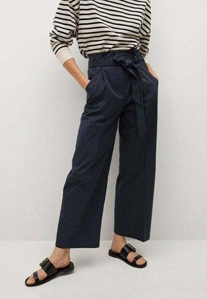 Pantalon classique - azul marino oscuro
