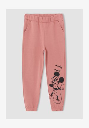 MICKEY & MINNIE - Tracksuit bottoms - pink