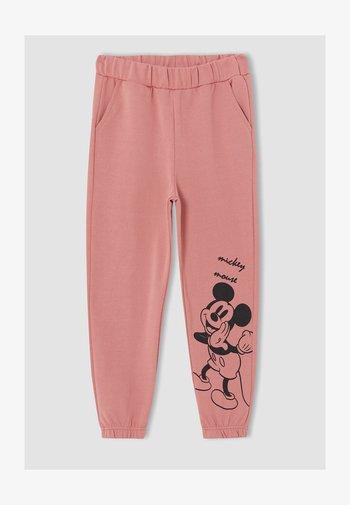 MICKEY & MINNIE - Pantaloni sportivi - pink