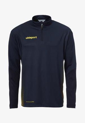 SCORE - Long sleeved top - marine/fluo gelb