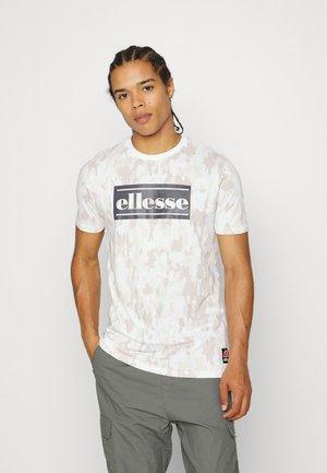 BRAZI TEE - T-shirt print - off white