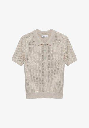 TELLON - Polo shirt - licht/pastelgrijs