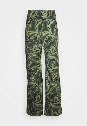 SOGN - Snow pants - green