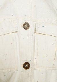 Scotch & Soda - ARMY SHIRT JACKET - Summer jacket - antique white melange - 5