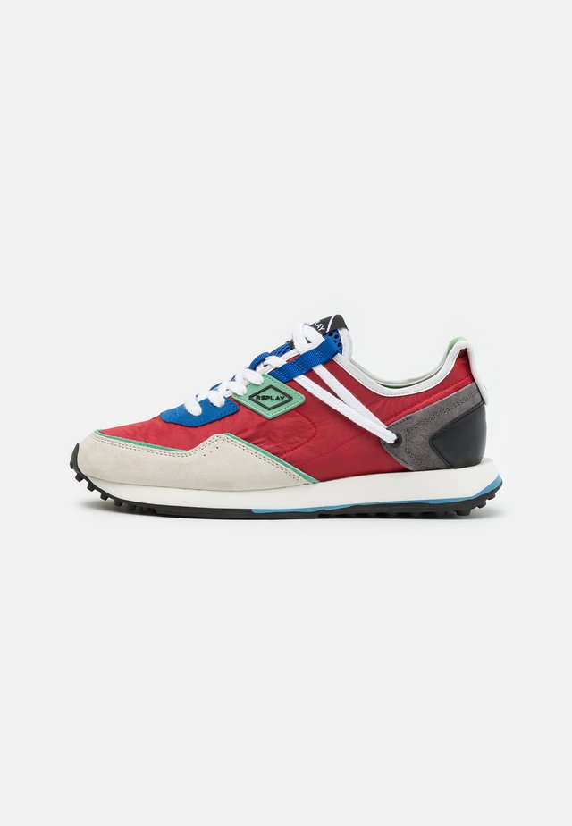 TAG81 WAVE - Sneakers laag - red/blue/green