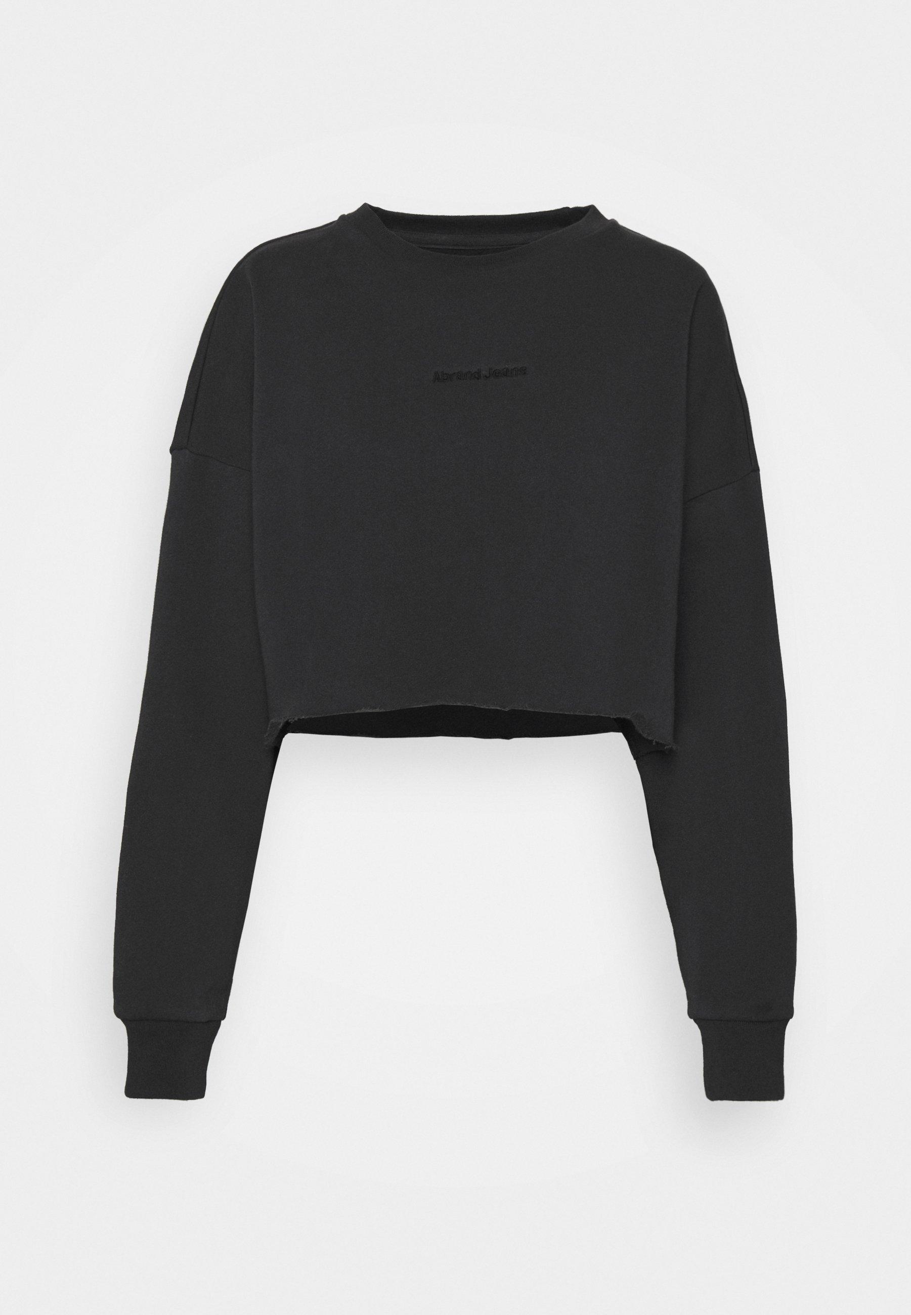 Women OVERSIZED CROP - Sweatshirt