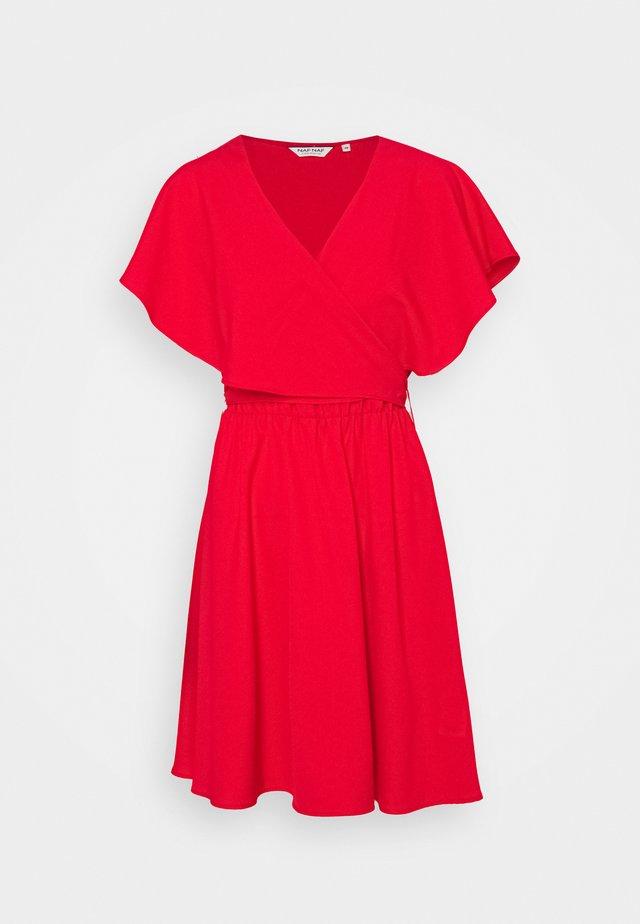 LAVOLANT - Robe d'été - lipstick