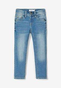 Name it - Straight leg jeans - light blue denim - 5