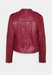 Pepe Jeans - LENNA - Faux leather jacket - currant - 7