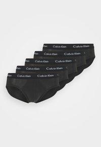 Calvin Klein Underwear - STRETCH HIP BRIEF 5 PACK - Figi - black - 3