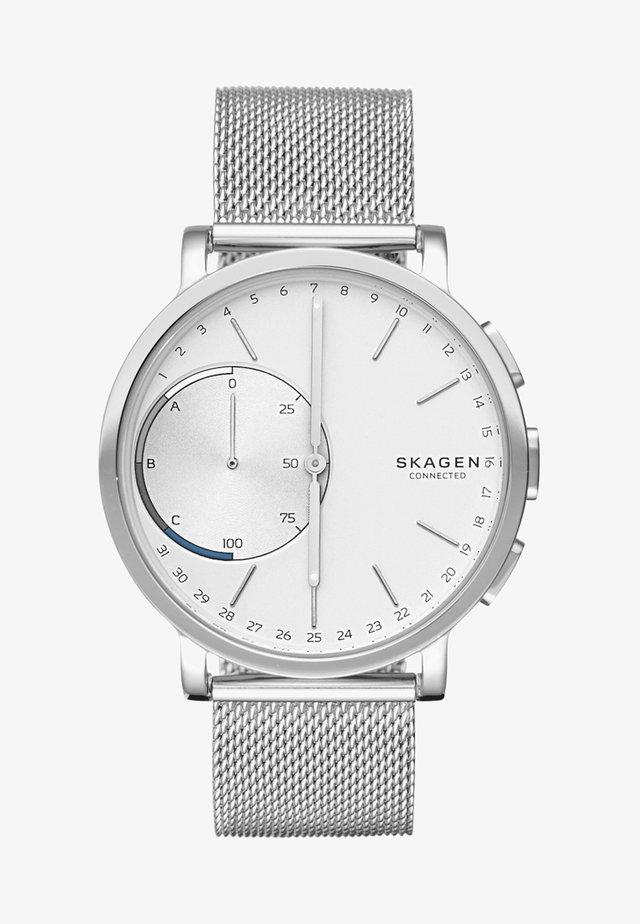 HAGEN CONNECTED - Smartklokke - silver-coloured