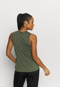 Casall - DRAPY MUSCLE TANK - Top - northern green - 2