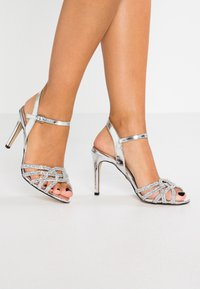 Buffalo - AFTERGLOW - High heeled sandals - silver - 0