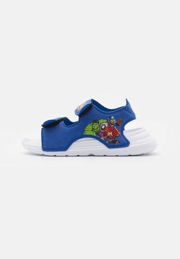 SWIM UNISEX - Pool slides - team royal blue/footwear white/vivid red