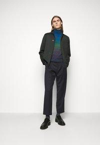 Missoni - LONG SLEEVE CREW NECK - Pullover - dark blue - 1