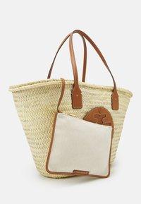 Tory Burch - ELLA BASKET TOTE - Tote bag - natural - 4