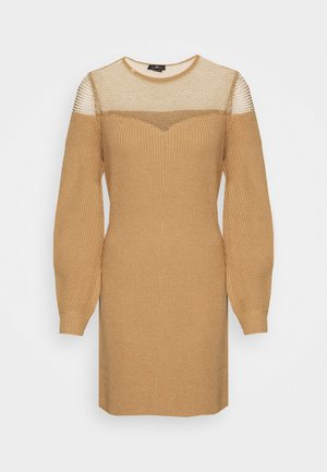 WOMAN'S DRESS - Jumper dress - cammello